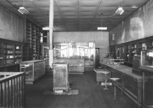 Strong Store Interior, Ocate, New Mexico, 1976.