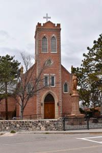 San Juan Batista Church at the Ohkay Owingeh Pueblo, New Mexico by Kathy Weiser-Alexander.