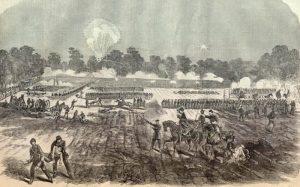 Battle of Irish Bend, Louisiana.