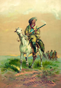 Buffalo Bill Cody, Scout by the Forbes Company, 1872.