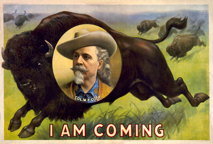 Buffalo Bill's Wild West, Courier Litho. Co, 1899.