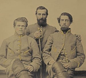 Confederate Cavalary Troops.
