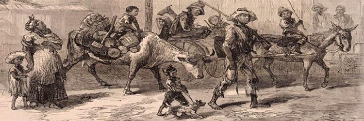Exodusters En Route to Kansas by Harper's Weekly, 1879