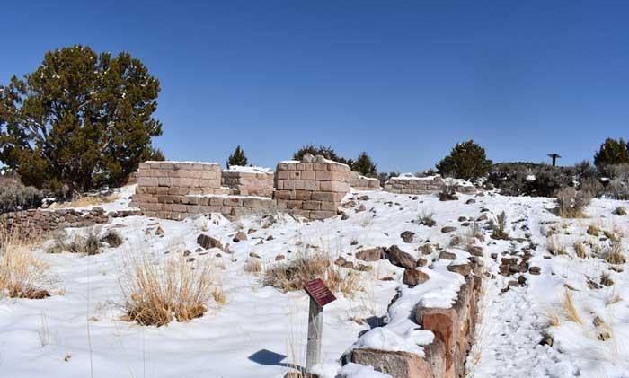 Ruins in Old Iron Town Utah