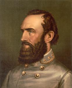 Stonewall Jackson by Strobridge Co. Lith.