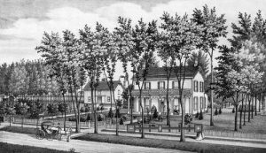 William Matthewson home in Wichita, Kansas.