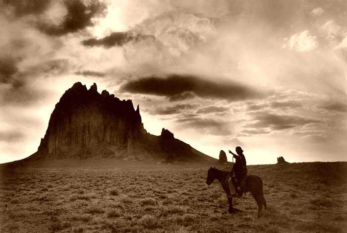 Navajo at Dawn