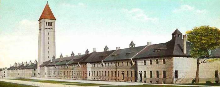Fort Sheridan, Illinois Barracks