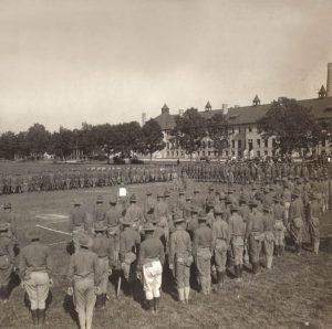 Fort Sheridan, Illinois Training Camp, 1917.