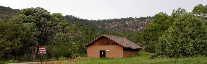 Pigeons Ranch House, Glorieta Pass, New Mexico by Kathy Weiser-Alexander.