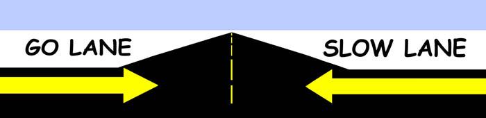Go Lane Slow Lane