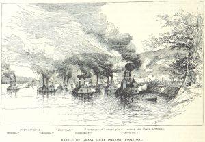 Battle of Grand Gulf Mississippi.