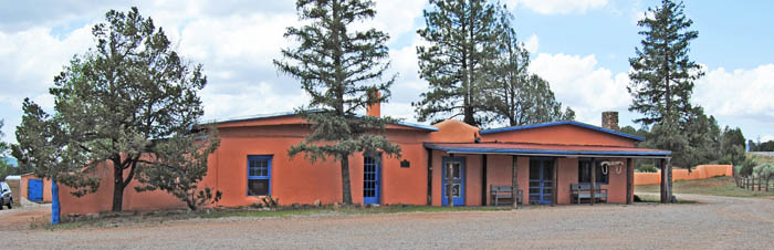 Kozlowski Stage Stop at Pecos National Park, New Mexico by Kathy Weiser-Alexander.