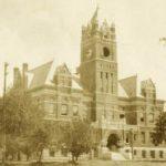 Newton, Harvey County Courthouse around 1910