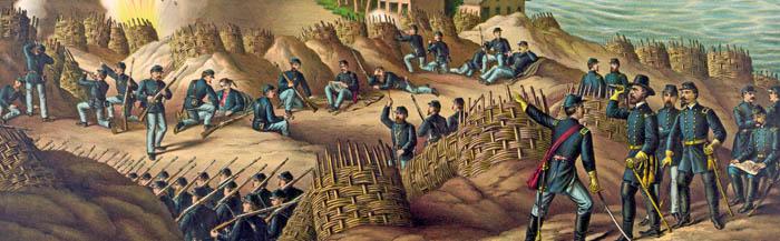 Siege of Vicksburg, Mississippi by Kurz and Allison.