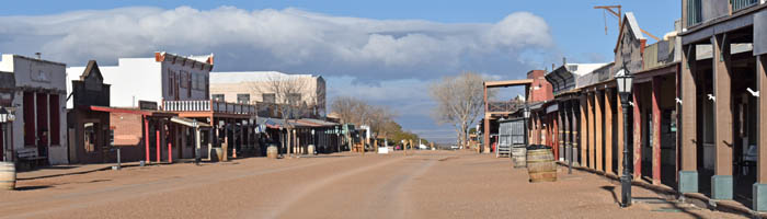Tombstone, Arizona - Allen Street in the early morning by Kathy Weiser-Alexander.
