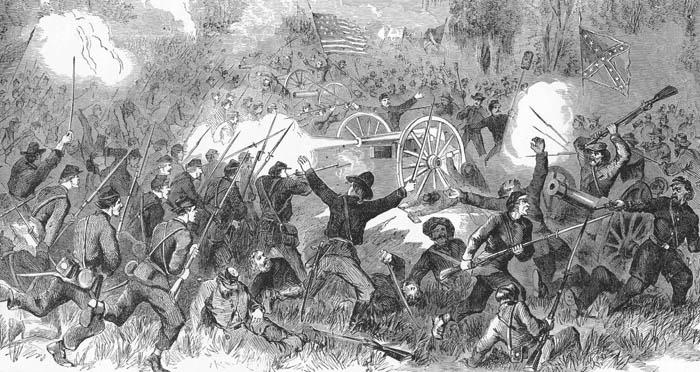 Battle of Champion Hill, Mississippi.