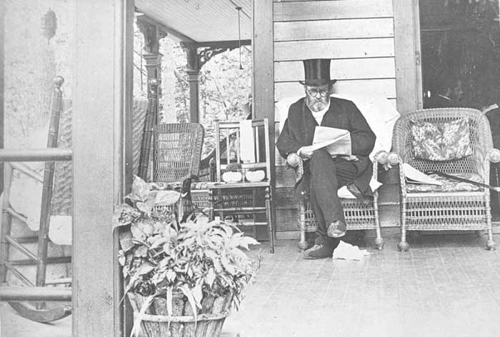 Last known photo of Ulysses S. Grant 1885