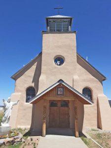Sacred Heart Church in Costilla, New Mexico, courtesy Waymarking.