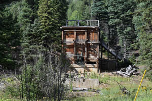 Remains of the Klondyke Mine today by Kathy Weiser-Alexander, 2021.