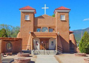 San Antonio Church in Questa, New Mexico courtesy EnchantedCircle.org