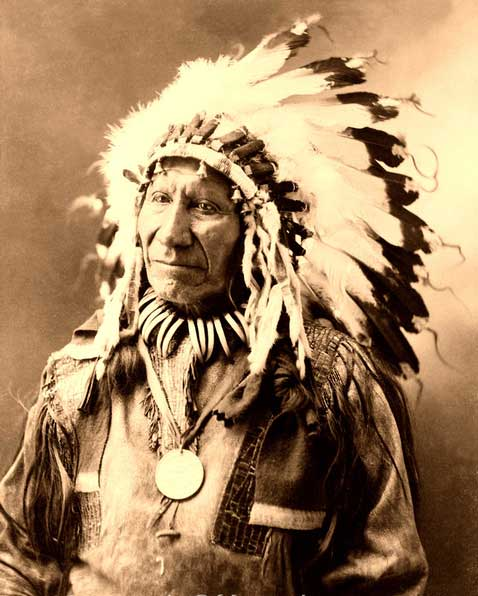 Chief American Horse, Oglala Sioux, 1900