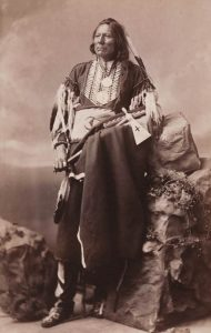 Ponca Chief White Eagle by John K. Hillers.