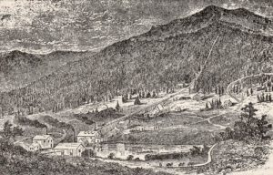 Summitville, Colorado Mining District 1870s.