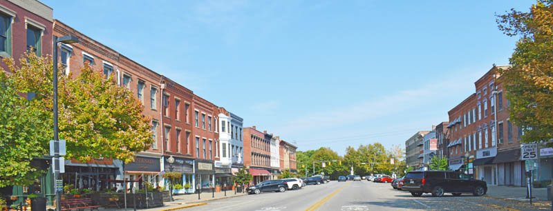 Chillicothe, Ohio Business District by Kathy Weiser-Alexander.