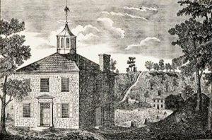 First Ohio capital in Chillicothe, Ohio.